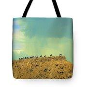 Wild Horses Monument Tote Bag