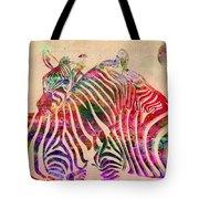 Wild Life 3 Tote Bag by Mark Ashkenazi