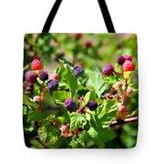 Wild Mountain Berries Tote Bag