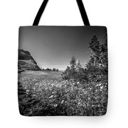 Wild Mountain Flowers Glacier National Park Tote Bag by Rich Franco