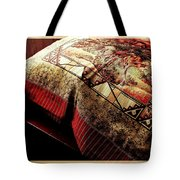 Wild Mustangs On A Quilt Tote Bag by Barbara Griffin