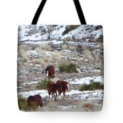Wild Nevada Mustangs 2 Tote Bag