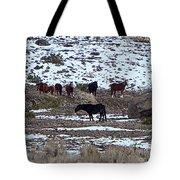 Wild Nevada Mustangs Tote Bag