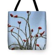 Wild Ocotillo In Bloom Tote Bag