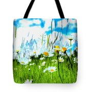 Wild Ones - Daisy Meadow Tote Bag