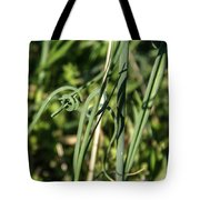 Wild Onion Grasp Tote Bag