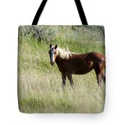 Wild Palomino Tote Bag by Sabrina L Ryan