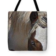 Wild Pinto Tote Bag