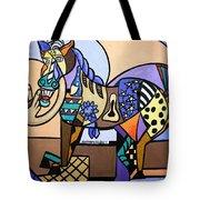 Wild Pony Tote Bag