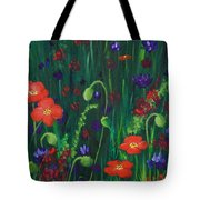 Wild Poppies Tote Bag
