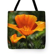 Wild Poppy On The Loose Tote Bag
