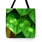 Wild Potato Vine Tote Bag