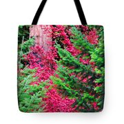 Wild Red Maple Tote Bag