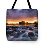 Wild River II Tote Bag by Davorin Mance