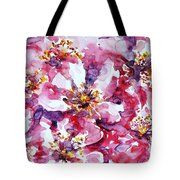 Wild Rose Tote Bag