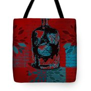 Wild Still Life - 0101a - Red Tote Bag