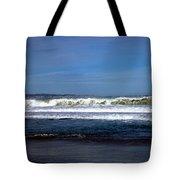Wild Surf At Seaside Beach Tote Bag