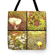 Wild Things Growing Near The Beach Tote Bag