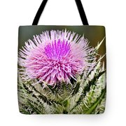 Wild Thistle  Tote Bag