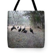 Wild Turkeys II Tote Bag