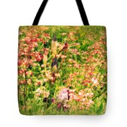 Wild Unfettered Beauty Tote Bag