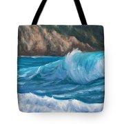 Wild Waves Tote Bag