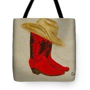 Line Dancin' Tote Bag