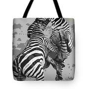 Wild Zebras Tote Bag