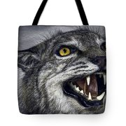 Wildcat Ferocity Tote Bag by Daniel Hagerman