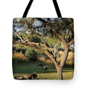 Wildebeest Tote Bag