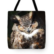 Wilderness Owl Tote Bag
