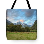 Wilderness Sunset Tote Bag