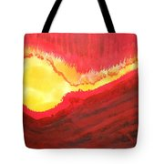 Wildfire Original Painting Tote Bag