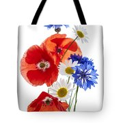 Wildflower Arrangement Tote Bag