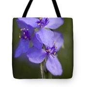 Wildflower Blues Tote Bag