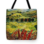 Wildflower Jungle Tote Bag