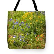 Wildflower Patch Tote Bag