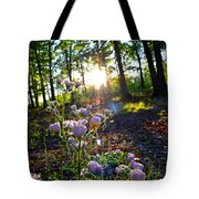 Wildflower Sunset Tote Bag