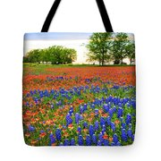 Wildflower Tapestry Tote Bag
