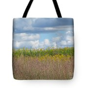 Wildflowers And Ornamental Grass Tote Bag