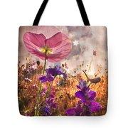 Wildflowers At Dawn Tote Bag