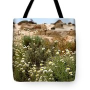 Wildflowers At Mungo National Park Tote Bag