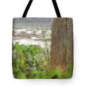 Wildflowers At The Beach Tote Bag
