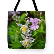 Wildflowers Greeting Card Tote Bag
