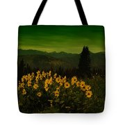 Wildflowers In The Beartooth Mountains Tote Bag