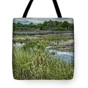 Wildlife Refuge Reflections Tote Bag