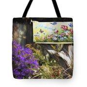 Wildlife's Mailbox Tote Bag