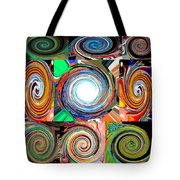 Will It Go 'round In Circles Tote Bag
