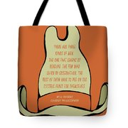 Will Rogers Cowboy Hat Tote Bag