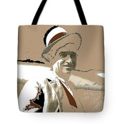 Will Rogers Informal Portrait Unknown Photographer Or Location 1924-2014  Tote Bag
